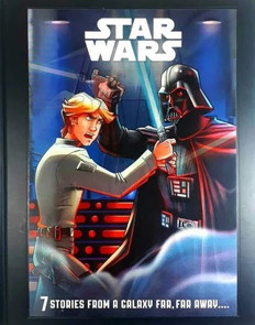 Star Wars: 7 Stories From a Galaxy Far, Far Away... (Hardcover)- Clearance Book
