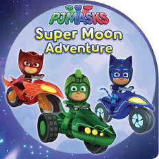 PJ Masks Super Moon Adventure (Paperback)