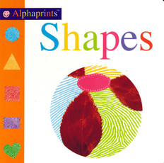 Shapes: Alphaprints (Board Book)
