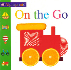 On the Go: Alphaprints (Board Book)