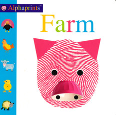 Farm: Alphaprints (Board Book)