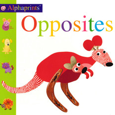 Opposites: Alphaprints (Board Book)ook)