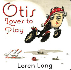 Otis Loves to Play (Board Book)