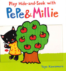 Play Hide-and-Seek With Pepe & Millie (Board Book)-Clearance Book