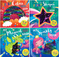 My Sequin Book Set of 4 (Board Book)