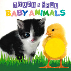 Baby Animals Touch & Feel (Board Book)