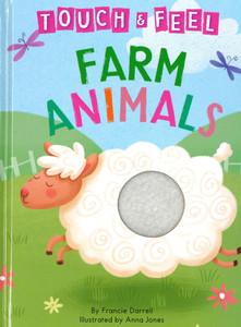 Farm Animals Touch & Feel (Big Board Book)
