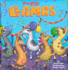 Five Little Llamas (Padded Board Book)