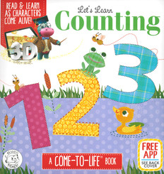 Let's Learn Counting 123: A Come-To-Life Book (Padded Board Book)