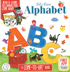Let's Learn Alphabet ABC: A Come-To-Life Book (Padded Board Book)