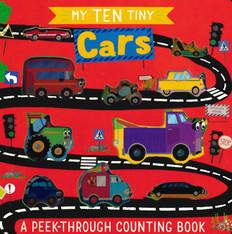 My Ten Tiny Cars: Peek-Through (Board Book)