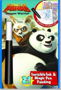 Kung Fu Panda Dragon Warrior Invisible Ink & Magic Pen Painting (Paperback)