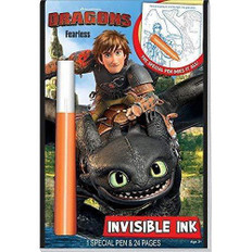 Dragons: Fearless Invisible Ink (Paperback)