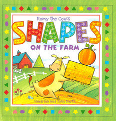 Romy the Cow's Shapes on the Farm (Board Book)