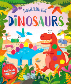 Dinosaurs: Hands-On Painting! (Paperback)