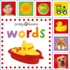 Words: Mini Tab Books (Board Book)