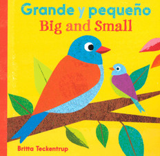 Big and Small (Spanish/English) (Board Book)