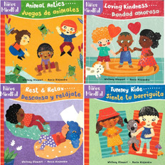 Mindful Tots Set of 4 (Spanish/English) (Board Book)
