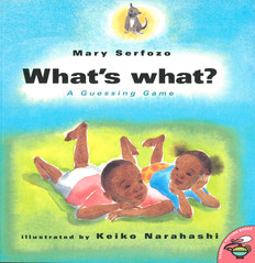 What's What? A Guessing Game (Paperback)