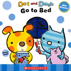 Dot and Dash Go To Bed (Paperback)