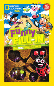Funny Fill-In My Bug Adventure (Paperback)