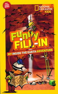 Funny Fill-In My Inside The Earth Adventure (Paperback)