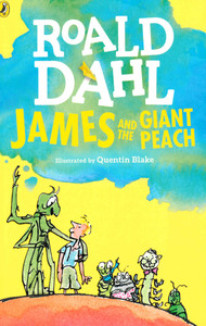 James and the Giant Peach: Roald Dahl (Paperback) Clearance Book/Non-Returnable