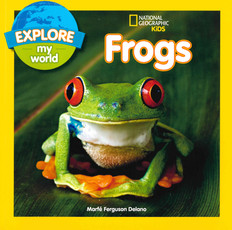Explore My World Frogs (Paperback)