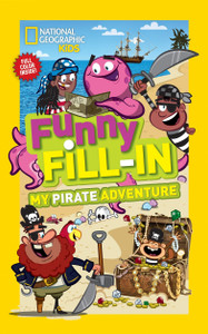 Funny Fill-in My Pirate Adventure (Paperback)