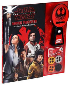 Star Wars: The Last Jedi Movie Theater Storybook & Movie Projector (Hardcover)- Clearance Book/Non-Returnable