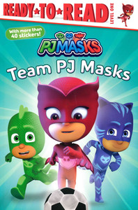 Team PJ Masks Level One (Paperback)- Clearance Book/Non-Returnable