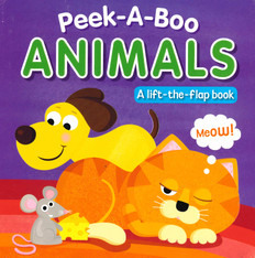 Peek-A-Boo Animals (Board Book)