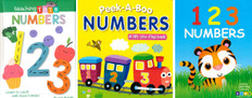 Numbers Are Fun! Set of 3 (Board Book)
