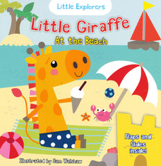 Little Giraffe at the Beach (Board Book)