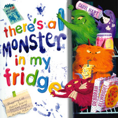 There's a Monster in My Fridge (Paperback)- Clearance Book/Non-Returnable