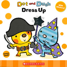 Dot and Dash Dress Up (Paperback)-Clearance Book/Non-returnable