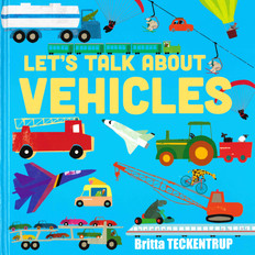 Let's Talk About Vehicles (Hardcover)