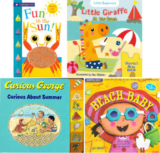 Summertime Fun! Set of 4