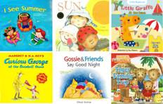 Sunny Summer Reading Challenge 2021: Set of 6 Books