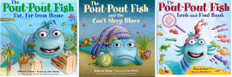 Pout Pout Fish Favorites Set of 3 (Hardcover)