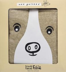 Friendly Faces at the Farm (Cloth Book)