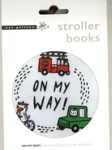 On My Way! Stroller Books (Cloth Book)