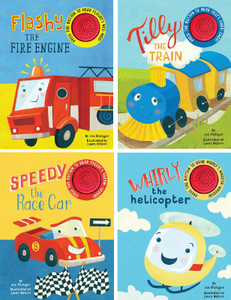 Stories of Things That Go!  Rhyming with Sound Set of 4 (Board Book)