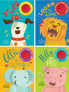 Rhyming Animal Stories with Sound!  Set of 4 (Board Book)