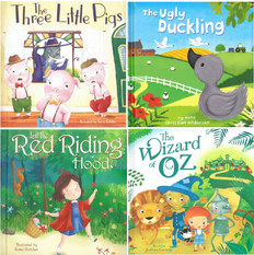 Timeless Tales Set of 4 (Padded Board Book)