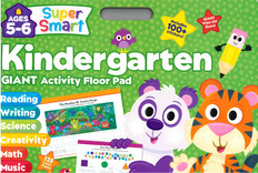 Kindergarten Giant Activity Floor Pad: Ages 5-6 (Paperback)- Clearance Book/Non-Returnable
