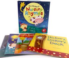 My Little Box of Nursery Rhymes Set of 4 (Paperback)