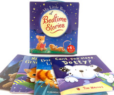 My Little Box of Bedtime Stories Set of 4 (Paperback)