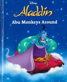 Aladdin:  Abu Monkeys Around (Hardcover)