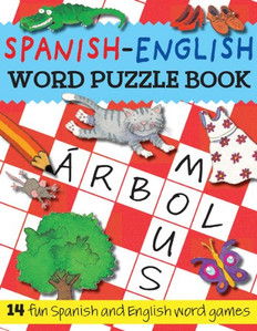 Spanish-English Word Puzzle Book (Paperback)